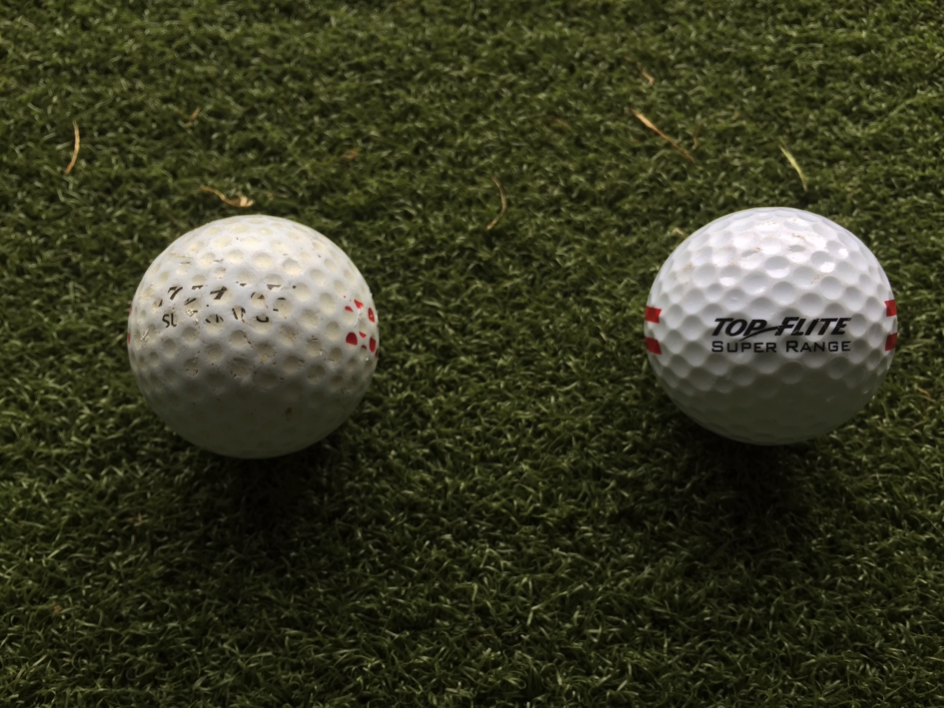 Range Ball Difference