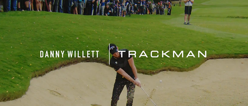 Danny Willett Talks TrackMan Simulator Golf