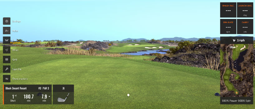 RENDERING YOUR GOLF COURSE INTO TRACKMAN'S VIRTUAL GOLF LIBRARY